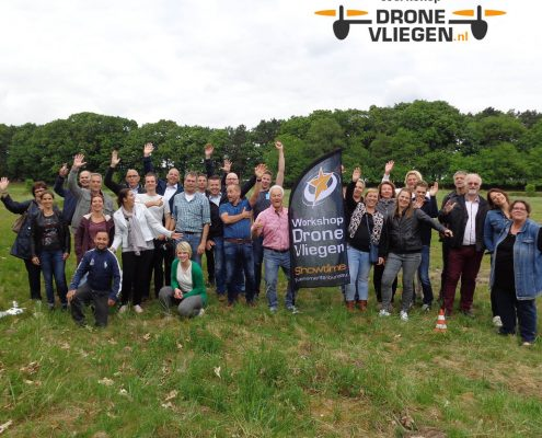 Workshop drone vliegen
