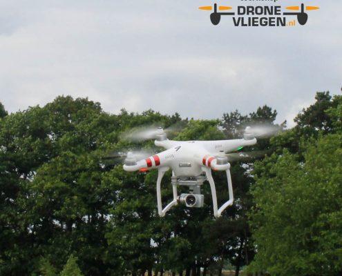 selfe maken tijdens drone vliegen?