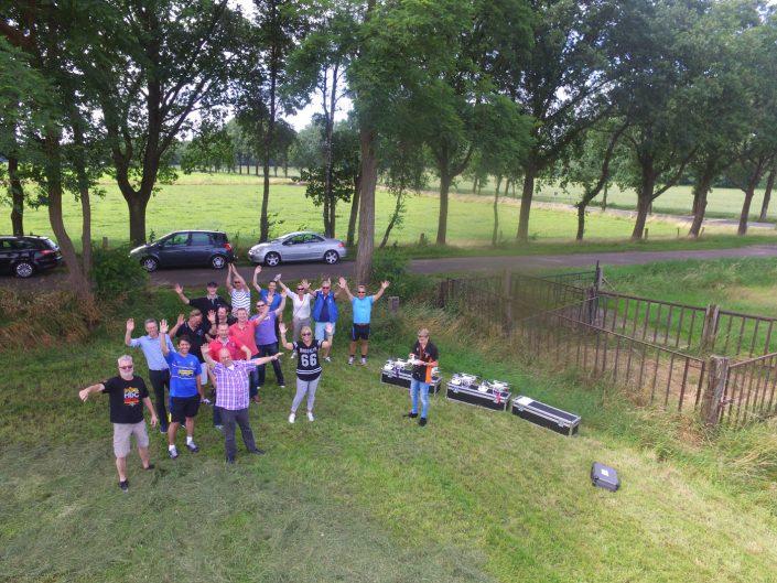Workshop Drone vliegen in Enschede voor Apollo Vredestein