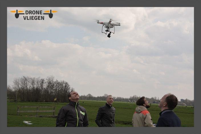 drone vliegen als bedrijfsuitje