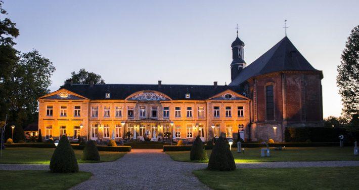 VALKENBURG - Exterieur van hotel Chateau St. Gerlach, de plek waar The Rolling Stones overnachten tijdens hun verblijf in Nederland. De rockband zal een optreden geven op Pinkpop. ANP KIPPA REMKO DE WAAL